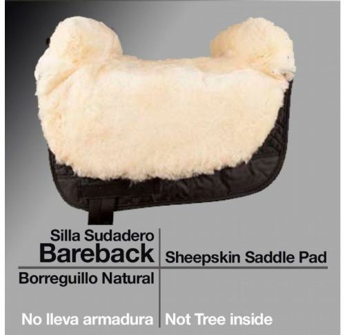 Sheepskin - Bareback riding pad